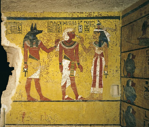 Burial Chamber Discovering King Tut S Tomb A Turning